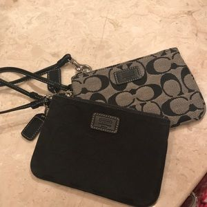 Black and Grey Wristlet Duo